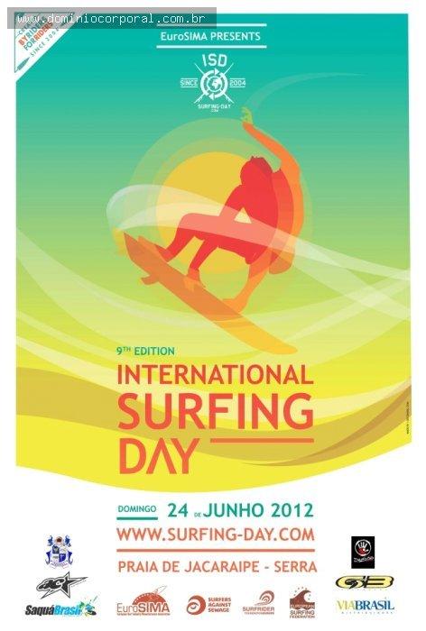 Notícias - Domínio Corporal no Dia internacional do Surf 2012