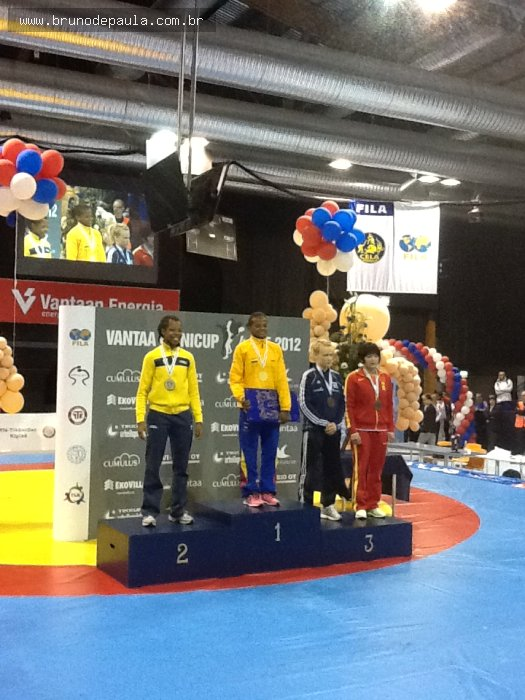 Notícias - Vaanta Cup: Joice é vice campeã do Pré-olímpico