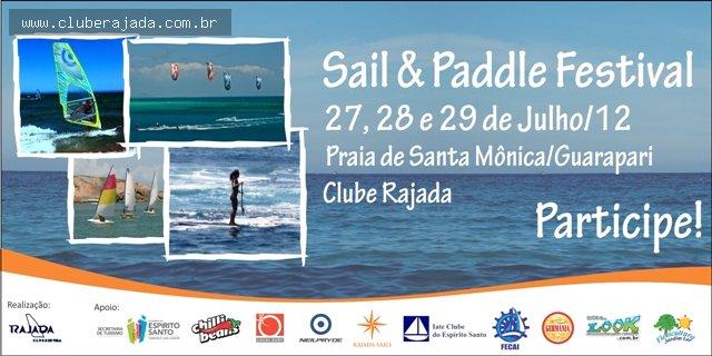 Notícias - Sail & Paddle Festival - 27, 28 e 29 de julho