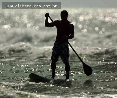 Notícias - Aprenda Stand Up Paddle no Clube  Rajada