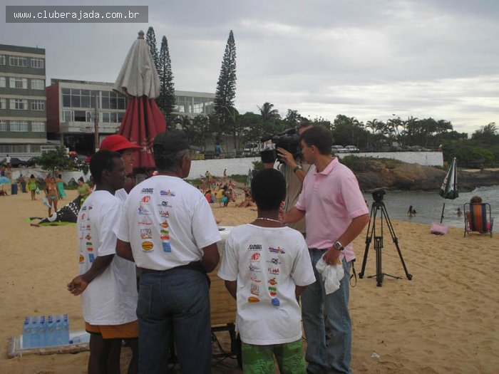 Notícias - Rajada promove Campanha Praia Limpa